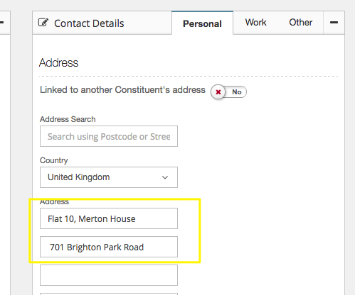 Correcting errors in gift aid claims donorfy support in the submission to hmrc so together these must be within the 40 character limit you can move address information into the 2nd address line to keep negle Image collections